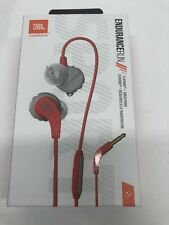 JBL Endurance Run, in-Ear Sport Headphone with one-Button mic/Remote - Red