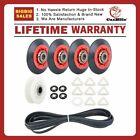 Rollers Pulley+ Belt + Wheel Dryer Repair Kit for Whirlpool Sears Kenmore Maytag photo