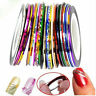 10 Rolls Striping Tape Line Nail Sticker Nail Nail UV Gel SALE Tips U1X1
