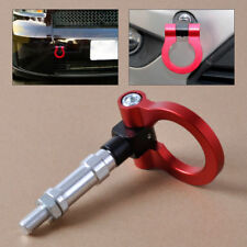 Aluminum  Car Front Rear Screw On Tow Hook Towing Racing Ring For BMW