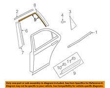 MAZDA OEM 07-15 CX-9 Exterior-Rear-Tape Right TD1150872B00