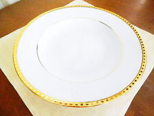 Tiffany & Co / and Company China Limoges GOLD BAND Rimmed Soup Bowl (S) - NICE!