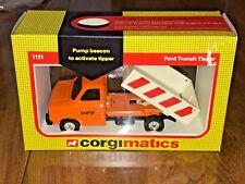 CORGI MATICS FORD TRANSIT TIPPER #1121 GREAT BRITAIN MIB 1983