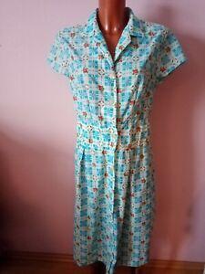 True Vintage Kleid  50er 60er jahre Nylon-Kleid gr. 42/44 bei