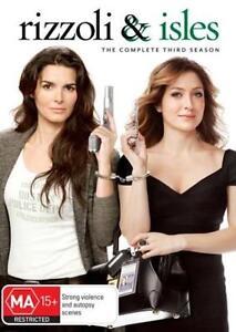 RIZZOLI And ISLES Season 3 : NEW DVD