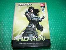 PowerColor Radeon HD3650 AGP 512MB DDR2 DVI/VGA/TVO Graphics Card, Boxed