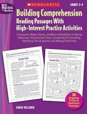 Building Comprehension: Crosswords, Mazes, Games, and More to Build Skills in Ma