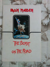 Iron Maiden tour programme - Number of the beast (2 versions)
