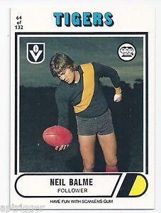 1976 Scanlens ## 64 Neil BALME Richmond Near Mint.