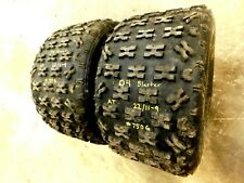 yamaha blaster 200 gold rear wheel tires rims set banshee warrior 350 2004 05 06
