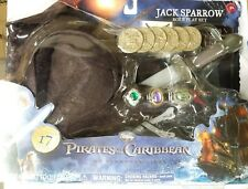 Pirates Of The Carribean Jack Sparrow 17 Pc Halloween Roleplay Costume Set *NEW*
