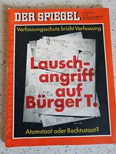 Der Spiegel 28.Februar 1977 #10 Lauschangriff auf Bürger T.