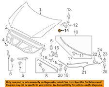 MITSUBISHI OEM 95-99 Eclipse Hood-Hinge Nut MS440503