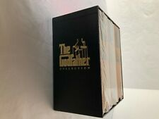 The GODFATHER COLLECTION 6PC VHS TAPE BOX SET-3 PARTS-1992-TWO PARTS SEALED-RARE