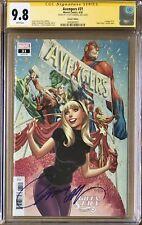 Avengers #31 J. Scott Campbell Gwen Stacy Variant CGC 9.8 SS