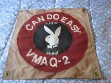 Modern Usmc Vmaq-2 Playboys Ea-6 Prowler Squadron Ready Room Bar Wall Flag
