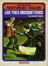 HISTORIAS COLOR nº  3 LOS 3 MOSQUETEROS. Bruguera, 1983. Álvarez Buylla.