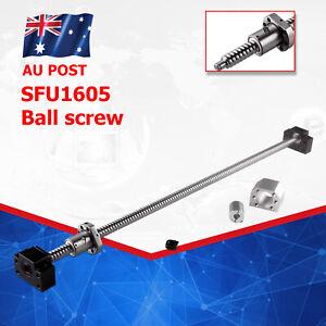 CNC SFU1605 Ball Screw SET L250-1500mm & Ballnut Housing & Coupler & BK/BF12