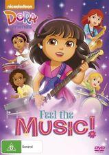 Dora & Friends - Feel The Music! (DVD, 2016) BRAND NEW REGION 4