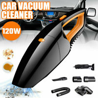 Car Vacuum Cleaner 12V For Home Auto Mini Handheld Wet Dry Small Portable 120W