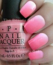 OPI Lot~Tickled Pink Ombre™Thats Hot!, Island Hops, Margarita, Matte Nail Polish