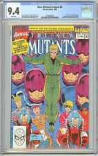 New Mutants Annual #6 CGC 9.4 White Pages 1990 2105844022