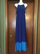 Old Navy Shades Of Blue Long Dress NWT M