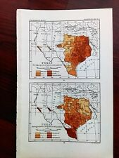 1904 USGS Texas Shows Proportion of Foreign Born and Colored to Total Population