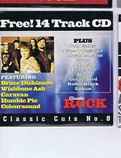 BRUCE DICKINSON / WISHBONE ASH / CARAVAN +  Classic Cuts 8 CLASSIC ROCK CD 2000