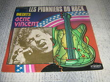 GENE VINCENT 33 TOURS FRANCE INEDITS ROCK'N'ROLL
