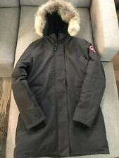 New Women's Canada Goose Victoria Down Parka Genuine Coyote Fur Slim Size Large