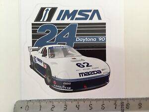 Sticker / Aufkleber, Mazda RX7 IMSA, 24 h Daytona 1990