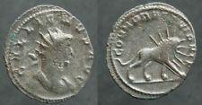 Romaine ! TRES RARE Antoninien de GALLIEN COHORTES PRETORIENNES (ROME)