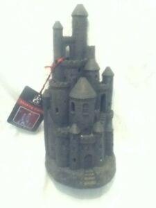 Elegant Expressions Black Smoking Castle Incense Burner Candle Halloween Decor