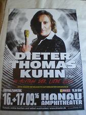 Konzertposter Dieter Thomas Kuhn Hanau September 2016