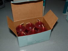 Partylite MULBERRY, Pack of 6 Votive Candles, NOS, Brand new in Box!
