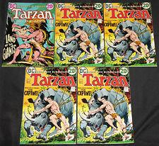 DC Bronze Age TARZAN 44pc Count Mid-High Grade Comic Lot FN-NM Jungle