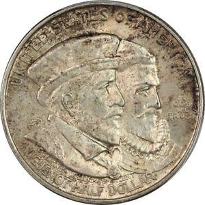 1924 Choice BU PCGS MS63 CAC Huguenot Commemorative Half Dollar - Original Skin!