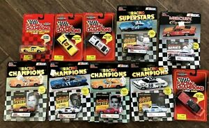 Nascar Racing Champions Classics Ford Daytona 1/64 DieCast Lot of 10 New in Box
