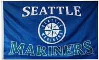 SEATTLE MARINERS FLAG 3'X5' MLB BANNER