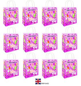 12 x WILLY DESIGN HEN PARTY BAGS Printed Paper Wedding Gift Bag Hen Do Night UK