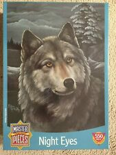 """New/Sealed """"Night Eyes"""" 550 Piece Jigsaw Puzzle - by Master Pieces"""