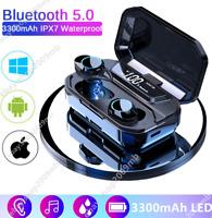 TWS Bluetooth 5.0 Headset Wireless Earphones Earbuds 9D Stereo Headphones Lot