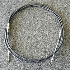 VW BUG BUGGY MORSE THROTTLE CABLE 10 FT BULK HEAD STYLE PUSH PULL CABLE
