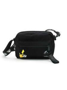 Pokemon x Adidas Pikachu Shoulder Bag Black Organizer new from Japan