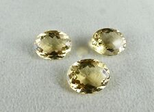 46 CTS CITRINE OVAL CUT GEMSTONE FOR EARRING
