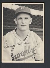 Newt Kimball 1940-49 Brooklyn Dodgers Picture Pack Photo Card