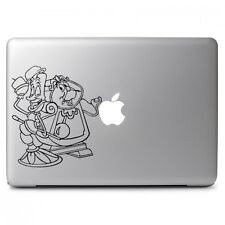 Beauty and the Beast lumiere and Gaston for Macbook Laptop Vinyl Decal Sticker