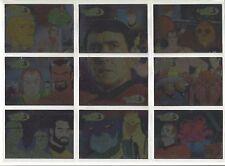 Star Trek  Animated Adventures  JAMES DOOHAN  Chase Cards JD1 - JD9  9 CARD SET