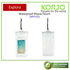 Korjo Waterproof Phone Pouch, Protects Against Water, Sand and Dirt